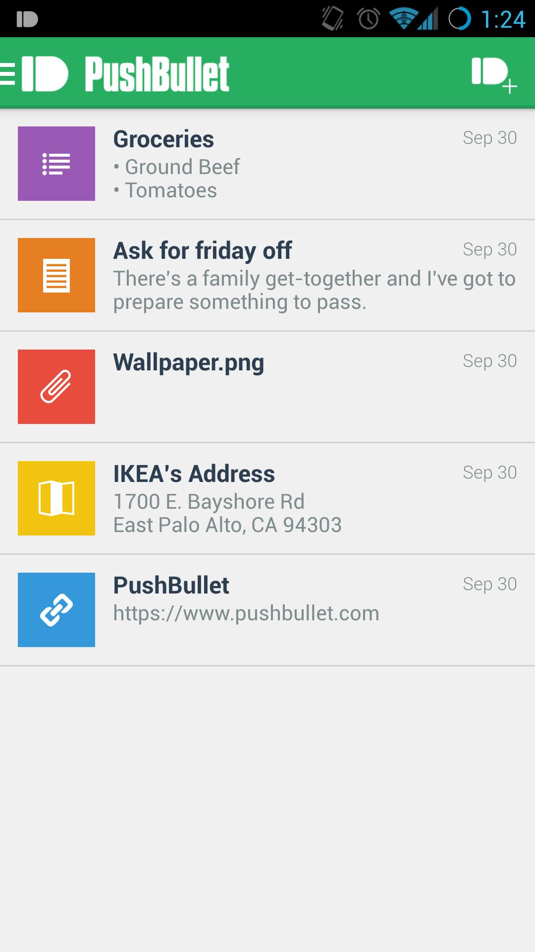 [APPLICATION ANDROID - PUSHBULLET] Partager rapidement du contenu entre appareils connectés et PC : note, lien, fichier, liste, adresse... ANDROID 4.0 +[Gratuit][15.01.2014] Attachment