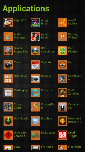 Launcher ala Windows Phone
