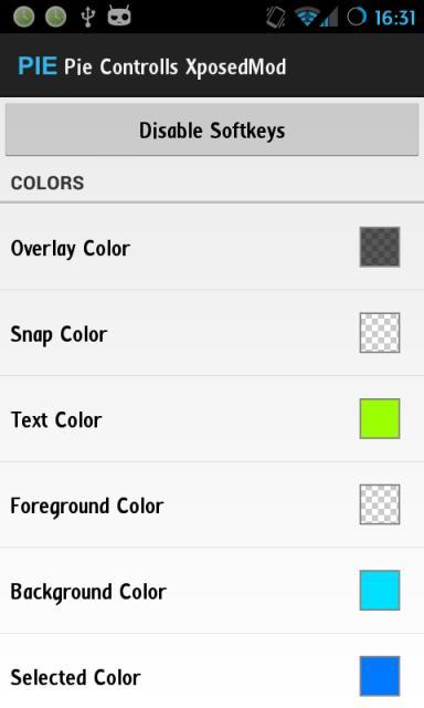 [SOFT][XPOSED][4.1+] Modifier les contrôles PIE CyanogenMod [Gratuit][17.09.2013] Attachment