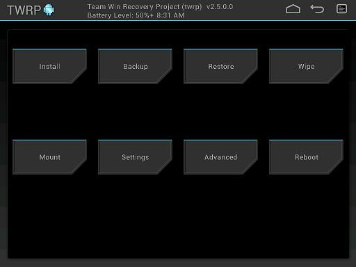 [RECVOERY] XZDualRecovery - TWRP/PhilZ Touch/CWM - UB/LB | Smartphones XPERIA [12.02.2014] Attachment