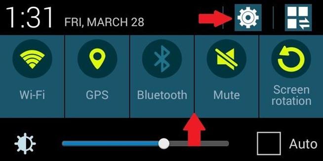 remove top right corner icon