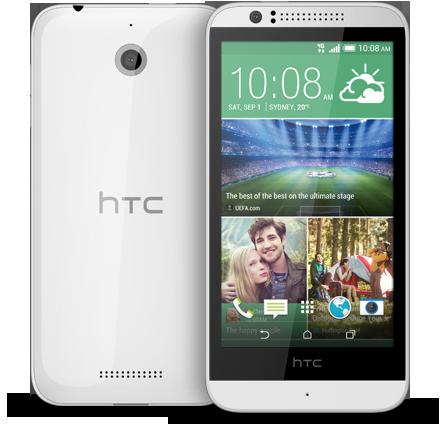 White HTC Desire 510