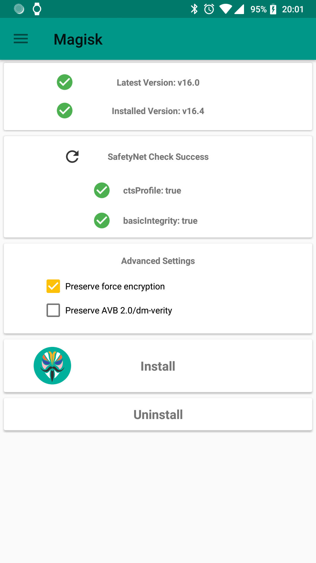 Click image for larger version  Name:Oreo_Magiskv16.4beta_GoogleSafetyNet.png Views:568 Size:110.1 KB ID:4496108