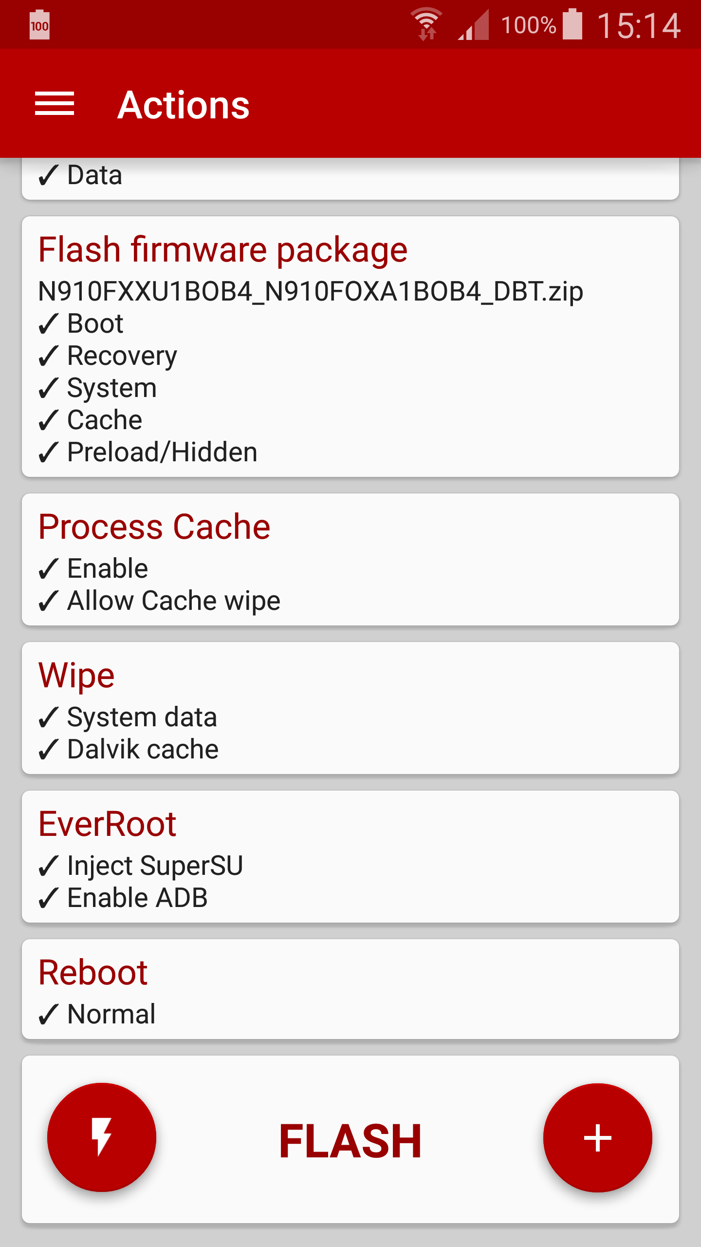 [APPLICATION ANDROID - FLASHFIRE] Flasher sans recovery par Chainfire [4.2+][Root][Gratuit/payant] Attachment
