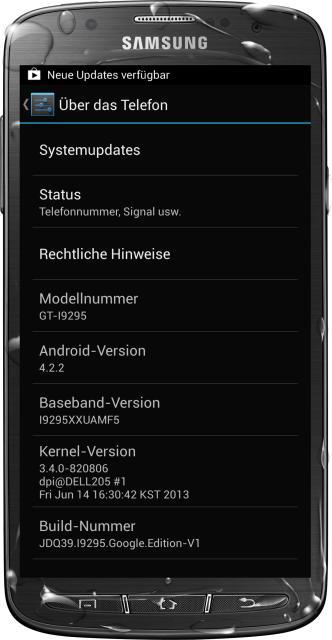 "[ROM 4.2.2][AOSP][GT-I9295] ROM Custom ""S4 Google Edition"" sur Samsung Galaxy S4 Active [21.08.2013] Attachment"