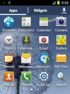 Screenshots [AOSP][ICS][ROM] TouchWiz ICS V1