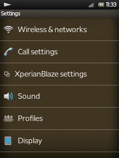 Screenshots [ROM][XPERIANBLAZE v3]