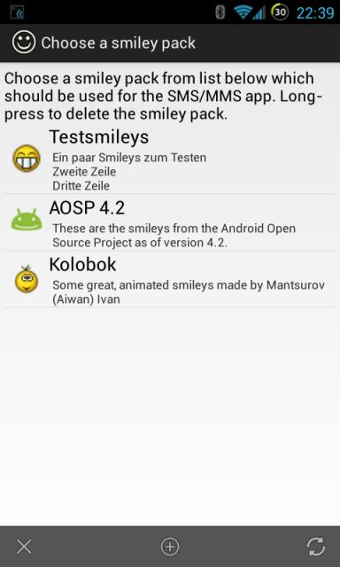 Cara mengganti emoticon/smiley sms android dengan Smiley Replacer