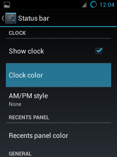 Screenshot CM 10.1 OD Rom [Extra Custmization]