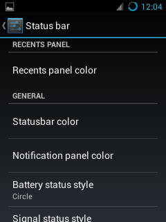 Screenshots For CyanogenMod 10.1 OD Custom Rom For Galaxy Mini