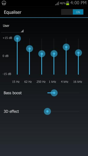 Clear Sound Effects, Low Bass Boost na S3 (GT-I9300) Attachment