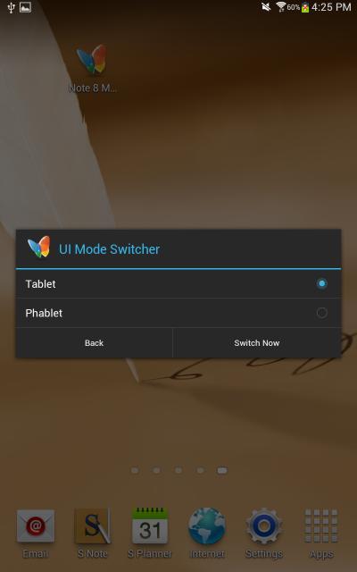 [APP] Note 8 MODE Switcher : Basculer entre vos interfaces [Gratuit][01.08.2013] Attachment