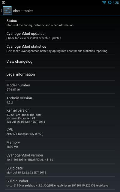 [ROM 4.2.2][N5110] ROM CyanogenMod 10.1 / CM10.1 [Non officielle][08.08.2013] Attachment