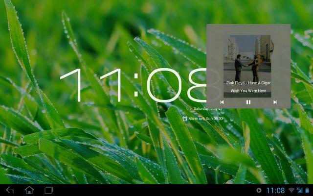"""[SOFT][4.0+] Floating Music Widget : Gérer sa musique avec un widget flotant comme du """"multi-fenêtres"""" [Gratuit][05.08.2013] Attachment"""