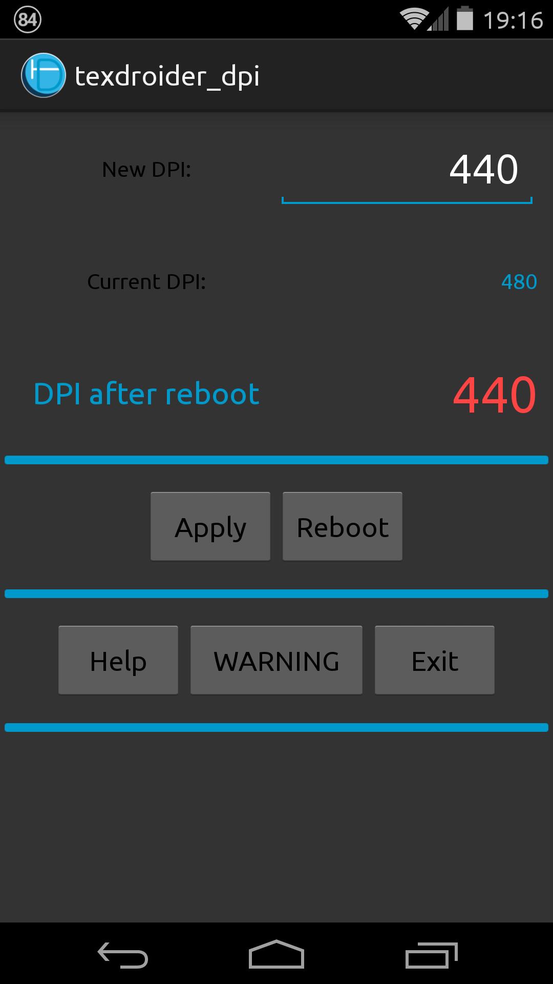 [SOFT][ROOT] TEXDROIDER : changer le DPI facilement [Gratuit][13.11.2013] Attachment