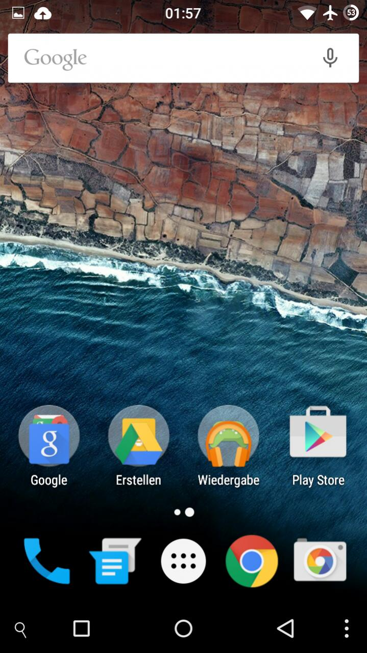 [APPLICATION ANDROID - LAUNCHER ANDROID M] Applications, animation de démarrage, sonneries... pour KitKat et Lollipop Attachment