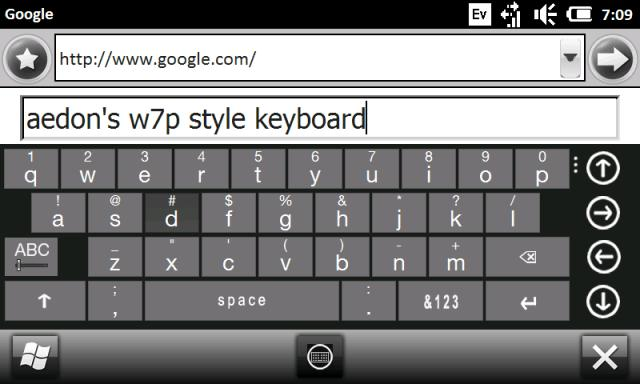 Aedon's FULL W7P Keyboard Skins Attachment