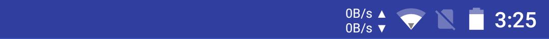 [APPLICATION ANDROID - INTERNET SPEED METER PRO] Indicateurs de vitesse Internet / réseau sans root ni Xposed [Gratuit] Attachment