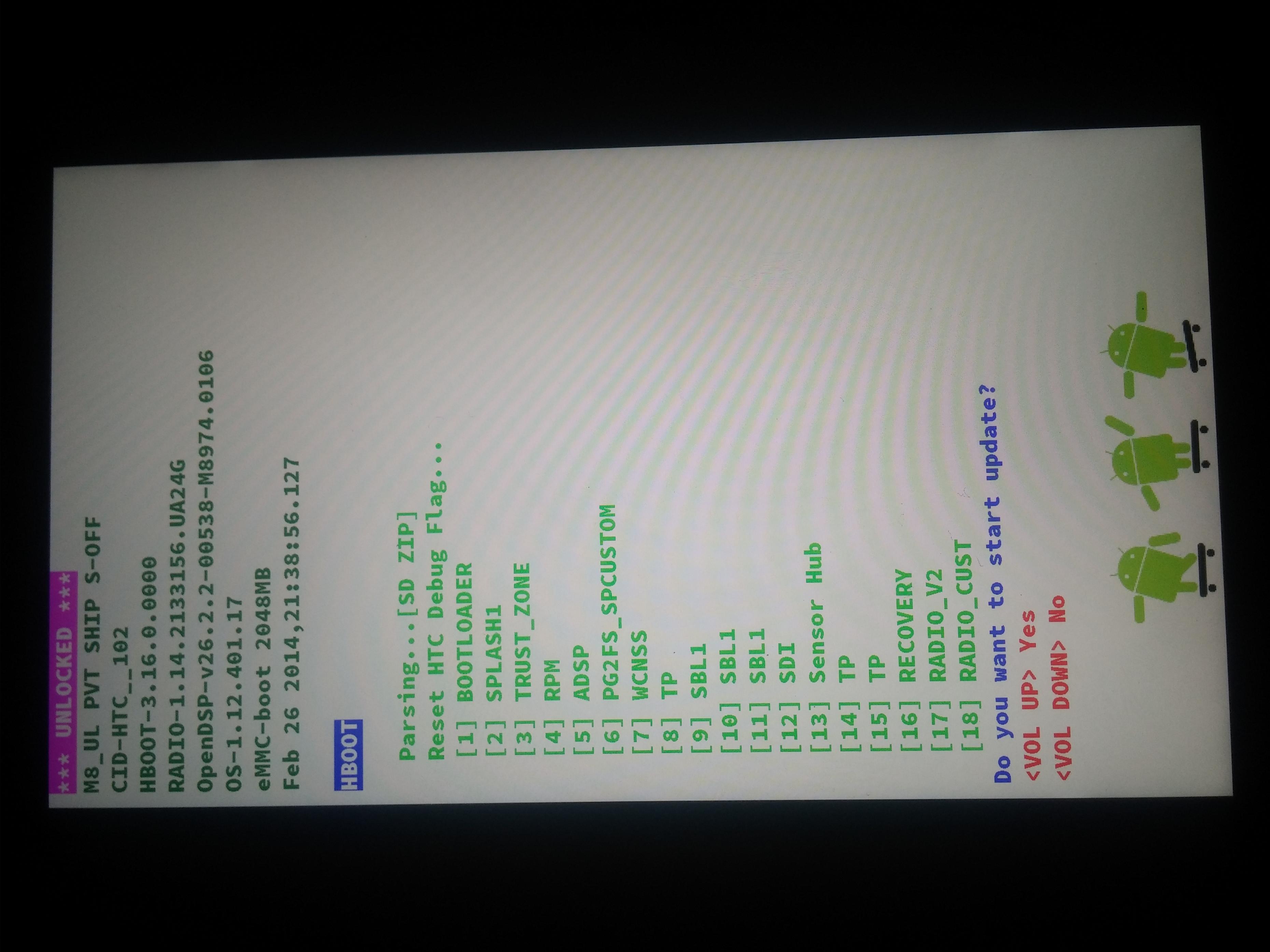 [RUU HTC ONE M8] RUU]pour revenir stock , S-off requis  Attachment