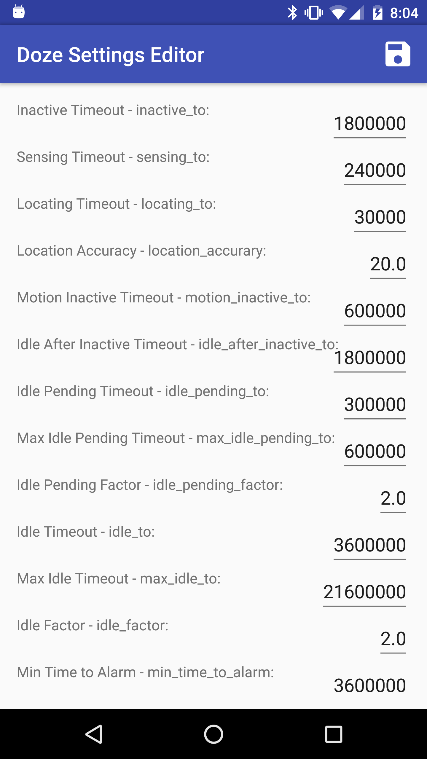 [INFO MARSHMALLOW DOZE] Comprendre et modifier le mode Doze de Android Marshmallow Attachment
